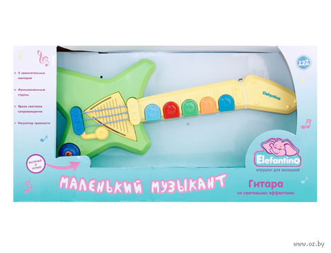 "Развивающая игрушка ""Гитара. Elefantino"""