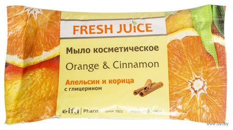"""Мыло косметическое """"Апельсин и корица"""" (75 г)"""