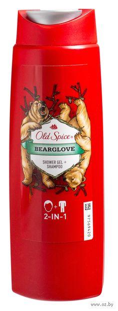 "Гель для душа + шампунь 2в1 ""Bearglove"" (250 мл)"