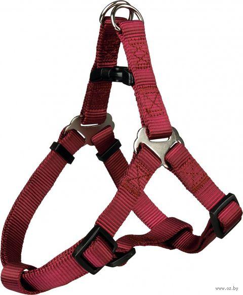 "Шлея ""Premium Harness"" (размер S; 40-50 см; бордовый)"