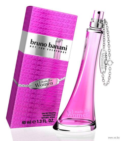 "Туалетная вода для женщин Bruno Banani ""Made For Women"" (40 мл)"