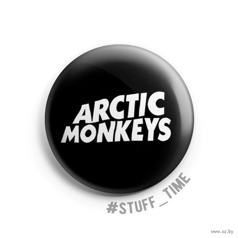 "Значок маленький ""Arctic Monkeys"" (арт. 063) — фото, картинка"