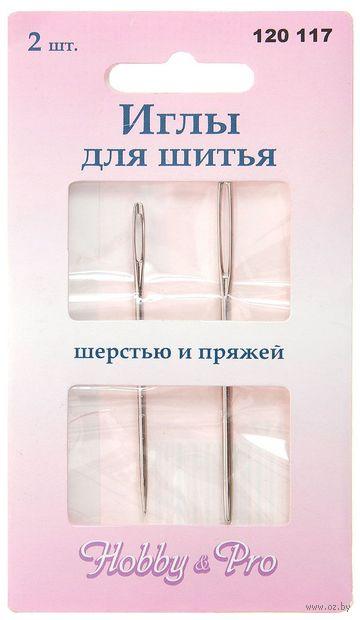 Иглы для шерсти (2 шт.; арт. 120117) — фото, картинка