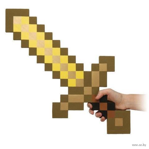 """Золотой меч """"Minecraft"""" — фото, картинка"""