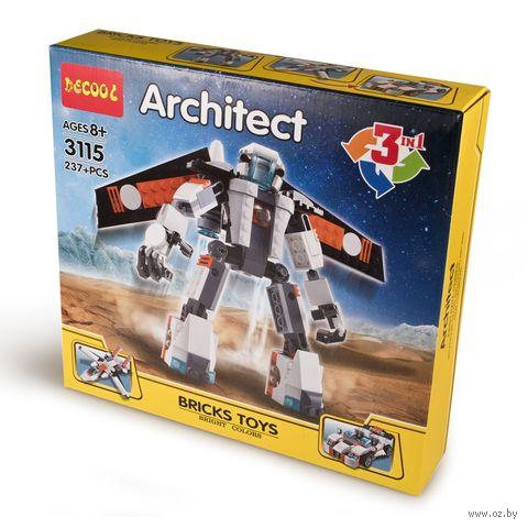 """Конструктор """"Робот-трансформер"""" (237 деталей; арт. 3115) — фото, картинка"""