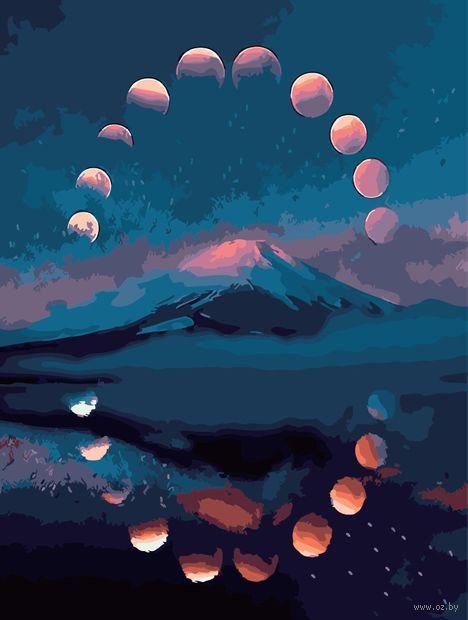 "Картина по номерам ""Лунный цикл"" (400х500 мм) — фото, картинка"
