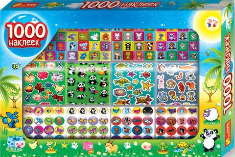 """Набор наклеек """"1000 наклеек с животными"""" — фото, картинка"""