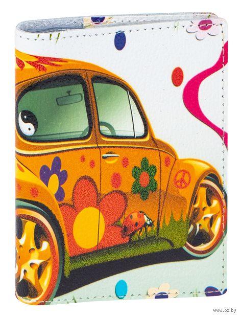 Обложка на автодокументы (арт. A1-17-374) — фото, картинка