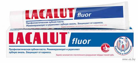 """Зубная паста """"Lacalut Fluor"""" (75 мл) — фото, картинка"""