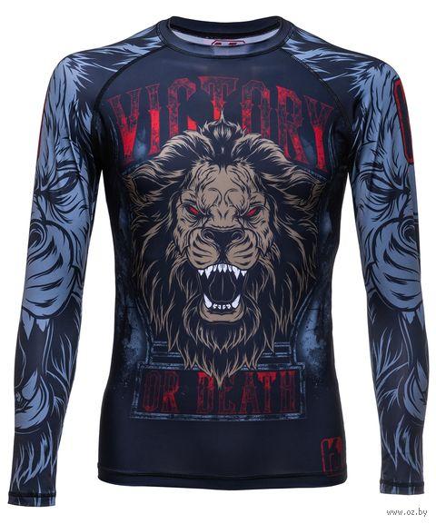 "Рашгард для MMA ""Lion"" RG-101 (XXL) — фото, картинка"