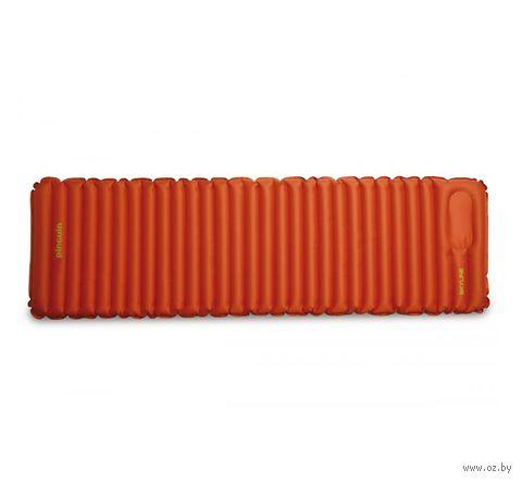 "Коврик самонадувающийся ""Skyline XL"" (оранжевый) — фото, картинка"