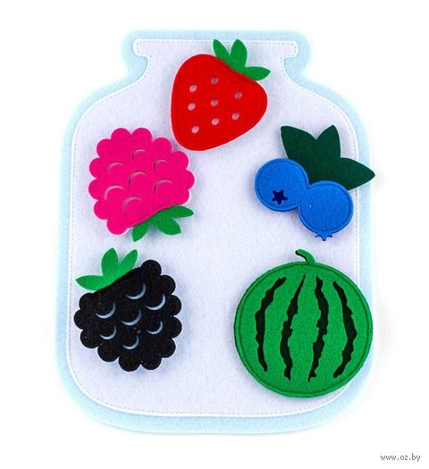 """Развивающая игрушка """"Банка с ягодами"""" — фото, картинка"""