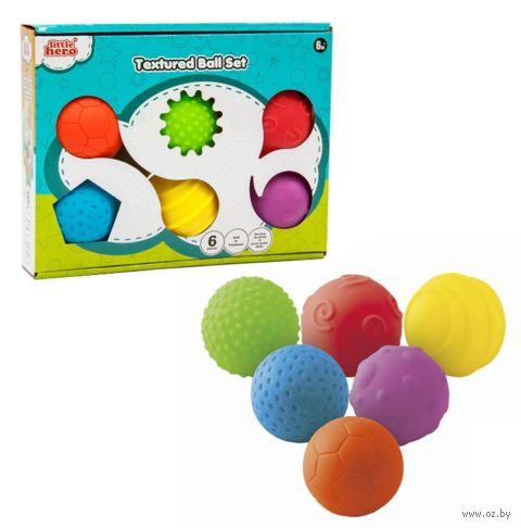 """Игровой набор """"Рельефные шарики"""" (6 шт.) — фото, картинка"""