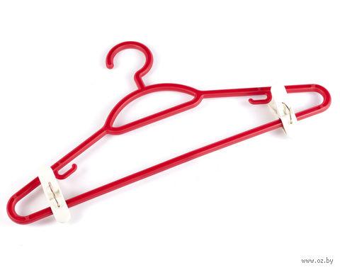 Вешалка для одежды пластмассовая (42 см; арт. С511)