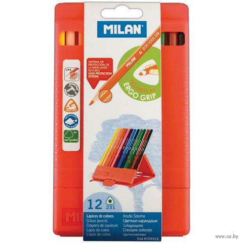 """Цветные карандаши """"231"""" (12 цветов; арт. 0729312)"""