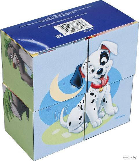 "Кубики ""Зверята Disney"" (4 шт)"