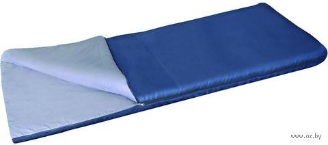 """Спальный мешок """"Бирр"""" (синий) — фото, картинка"""