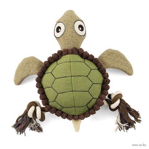 """Игрушка для собак """"Черепаха"""" (24 см) — фото, картинка"""
