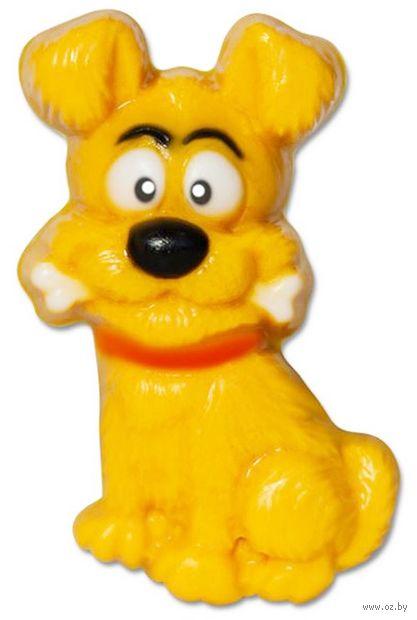 """Форма для изготовления мыла """"Собака с косточкой"""" — фото, картинка"""