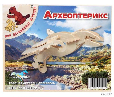 """Сборная деревянная модель """"Археоптерикс"""" — фото, картинка"""