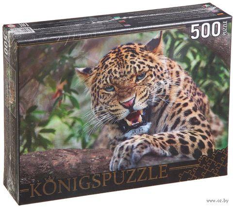 """Пазл """"Дальневосточный леопард"""" (500 элементов) — фото, картинка"""