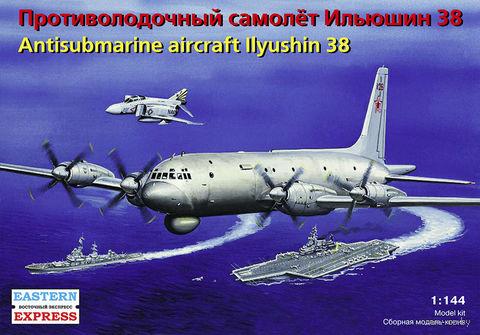Противолодочный самолет Ил-38 (масштаб: 1/144)