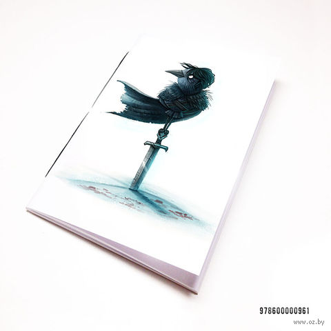 """Блокнот """"Игра престолов. Ворон"""" (А7; арт. 961) — фото, картинка"""