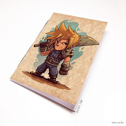 """Блокнот крафт """"Final Fantasy"""" (А5; арт. 886) — фото, картинка"""