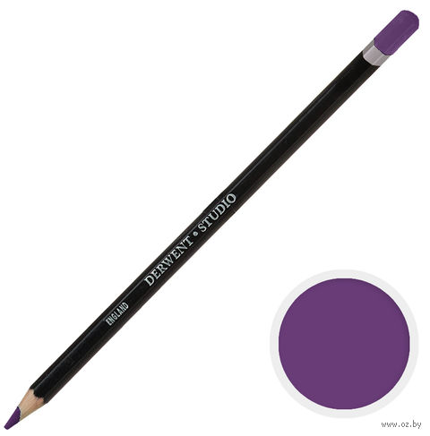 Карандаш цветной Studio 24 (красно-фиолетовый лак)