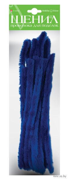 Проволока пушистая №10 (10 шт.; синяя) — фото, картинка