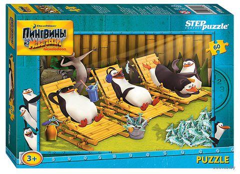 """Пазл """"Пингвины из Мадагаскара"""" (60 элементов) — фото, картинка"""