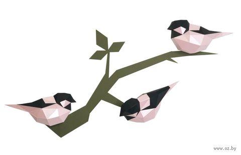 "3D-конструктор ""Птички"" (розовый) — фото, картинка"