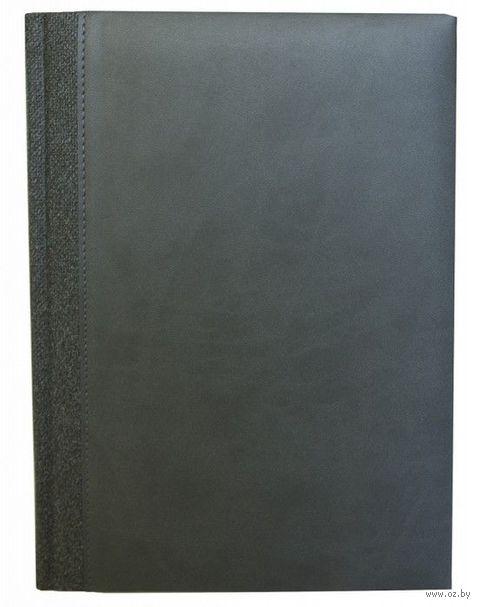 """Ежедневник датированный """"QUEBEC AX"""", 2015 (А5; серый) — фото, картинка"""