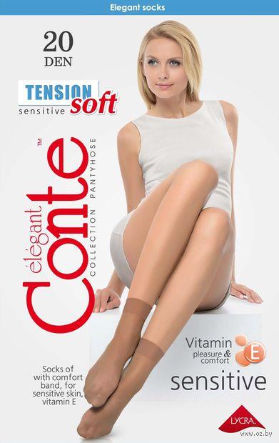 """Носки женские полиамидные """"Conte. Tension soft 20"""" — фото, картинка"""