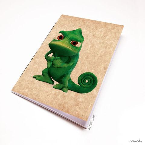 "Блокнот крафт ""Рапунцель. Хамелеон"" (А5; арт. 232) — фото, картинка"
