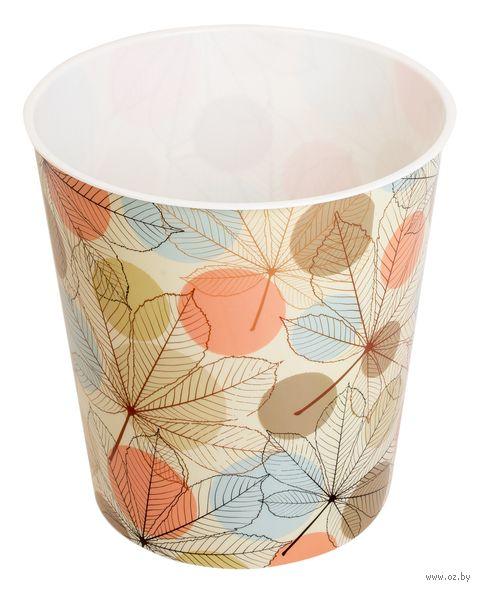 Ведро для мусора пластмассовое (5,5 л; арт. 10290-B)