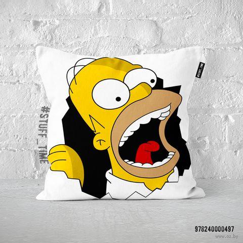 """Подушка """"Гомер Симпсон"""" (арт. 497) — фото, картинка"""