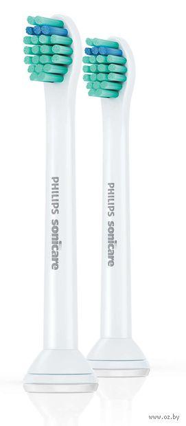 """Насадка для электрической зубной щетки Philips Sonicare """"ProResults"""" (2 шт; арт. HX6022/07)"""