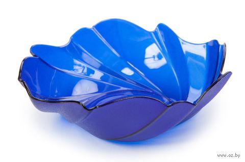 """Фруктовница """"Akri"""" (0,4 л; синяя полупрозрачная) — фото, картинка"""