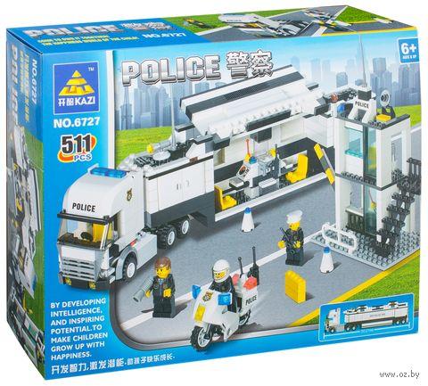 """Конструктор """"Полицейское мобильное подразделение"""" (511 деталей) — фото, картинка"""
