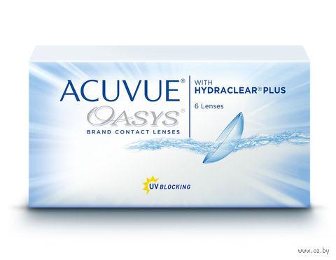 """Контактные линзы """"Acuvue Oasys"""" (1 линза; -5,75 дптр) — фото, картинка"""