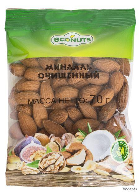 """Миндаль очищенный """"Econuts"""" (70 г) — фото, картинка"""