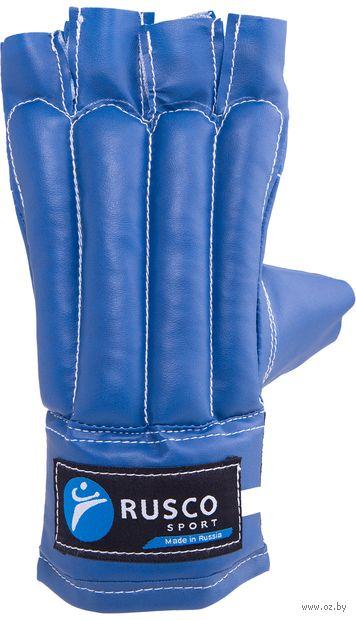 Перчатки снарядные (S; шингарты; синие) — фото, картинка