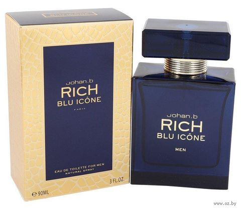 "Туалетная вода для мужчин ""Rich Blu Icone"" (90 мл) — фото, картинка"