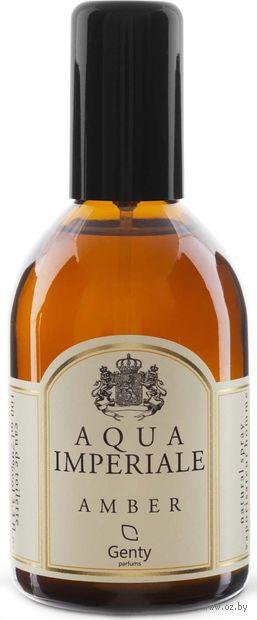 """Туалетная вода для мужчин """"Aqua Imperiale Amber"""" (100 мл) — фото, картинка"""