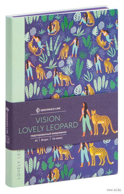 "Ежедневник недатированный ""Lovely Leopard"" (А5) — фото, картинка"