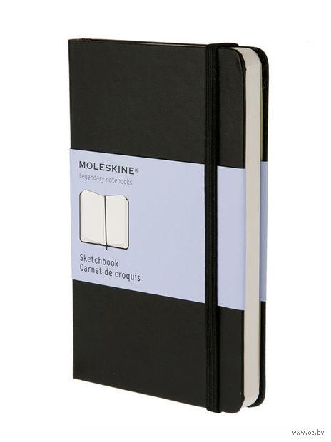 """Скетчбук Молескин """"Classic"""" (карманный; твердая черная обложка)"""