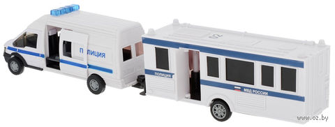 """Модель машины """"Rescue Van. Полиция"""" (масштаб: 1/48)"""