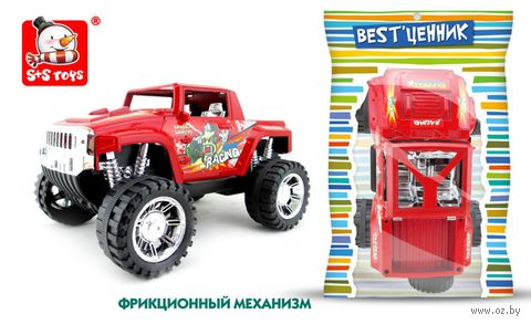 Машинка фрикционная (арт. 100794106-100794106) — фото, картинка
