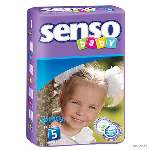 """Подгузники """"Senso baby. Junior"""" (11-25 кг; 16 шт.) — фото, картинка"""